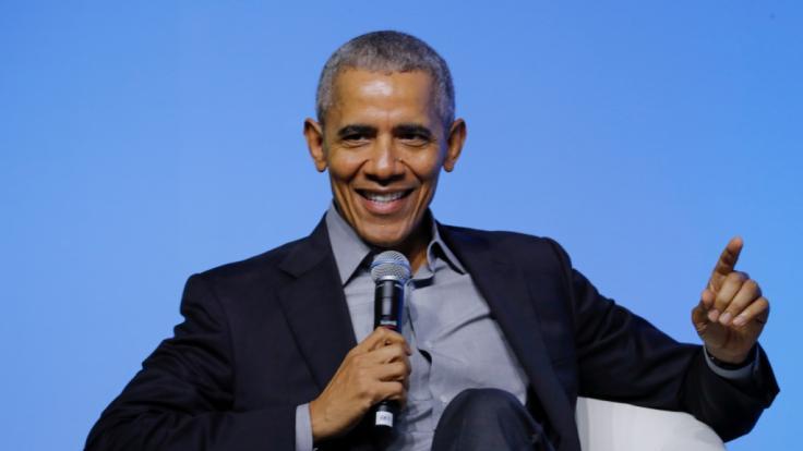 Im Interview mit Show-Host James Corden bestätigte der ehemalige US-Präsident Barack Obama UFO-Sichtungen in den USA. (Foto)