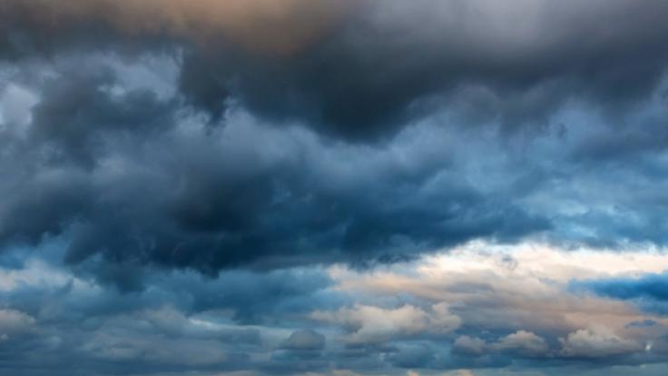 Zum Wochenende sollen immer mehr Wolken am Himmel aufziehen.