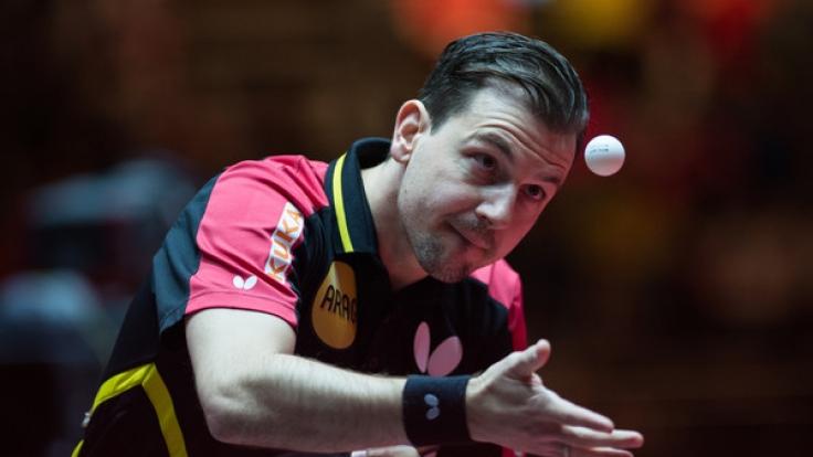 Die deutschen Tischtennisspieler um Timo Boll haben es ins Halbfinale geschafft. (Foto)