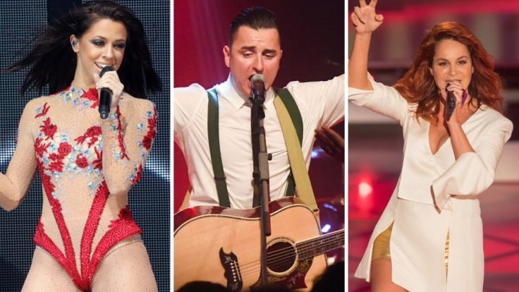 Vanessa Mai, Andreas Gabalier und Andrea Fischer sind nur drei der Schlagerstars, die 2019 auf Tournee gehen. (Foto)
