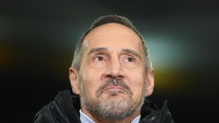 Trainer Ari Hütter muss zittern: Kann Eintracht Frankfurt RB Salzburg schlagen? (Foto)