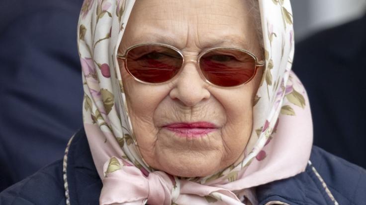 Queen Elizabeth wird nicht erfreut sein, was sich vier Jugendliche auf ihrem Schlossgelände erlaubten. (Foto)