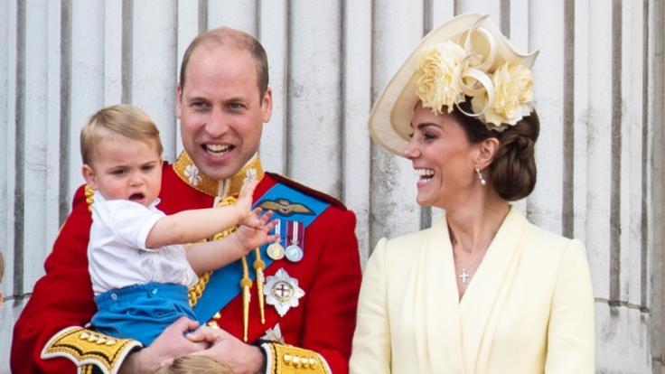 Kate Middleton und Prinz William sahen sich gezwungen, ihren Kindern Notlügen aufzutischen.