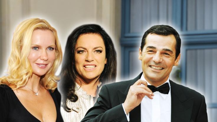 Häufig im TV zu sehen (von links): Veronica Ferres, Christine Neubauer und Erol Sander. (Foto)