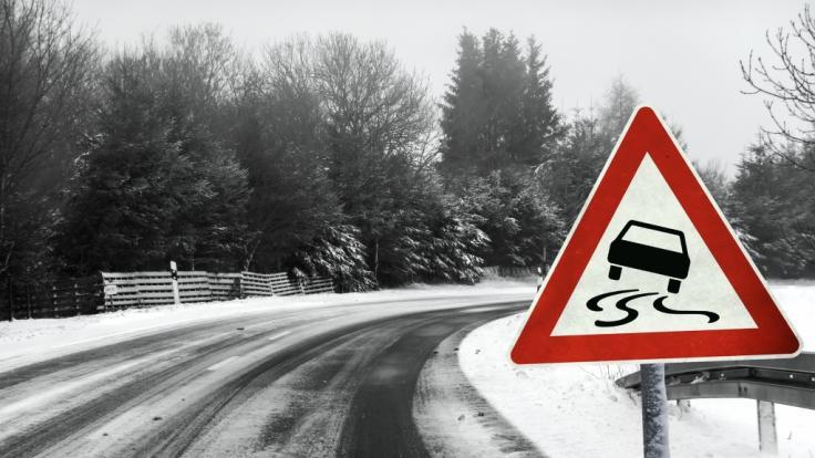 Der DWD warnt vor Frost und Glätte. (Foto)
