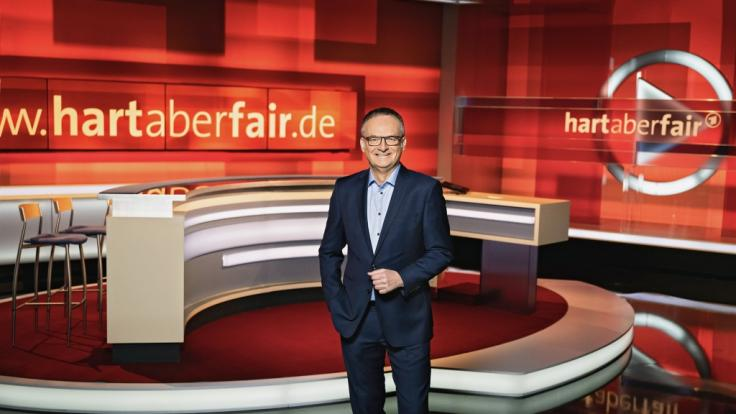 Frank Plasberg geht am 4. Oktober das nächste Mal auf Sendung. (Foto)