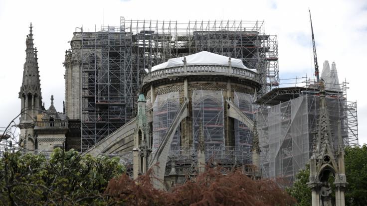 Notre-Dame soll neu aufgebaut werden.