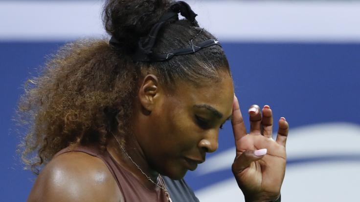 Serena Williams steht aktuell in der Kritik.