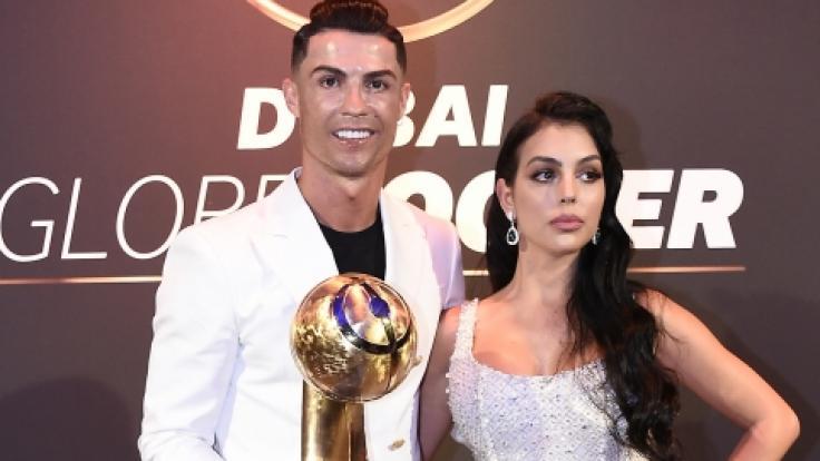 Georgina Rodriguez macht Cristiano Ronaldo offenbar sprachlos. (Foto)