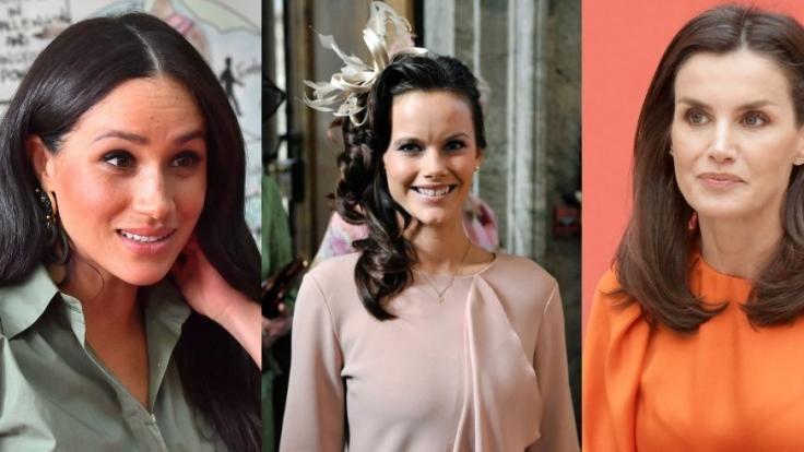 Meghan Markle, Prinzessin Sofia von Schweden und Königin Letizia von Spanien haben den Royals den Kopf verdreht.