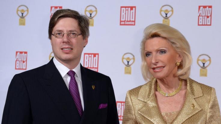 Die reichste Famile: Maria-Elisabeth Schaeffler-Thumann und Sohn Georg Schaeffler. (Foto)
