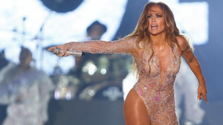 Da hat Jennifer Lopez wieder einen rausgehauen. (Foto)