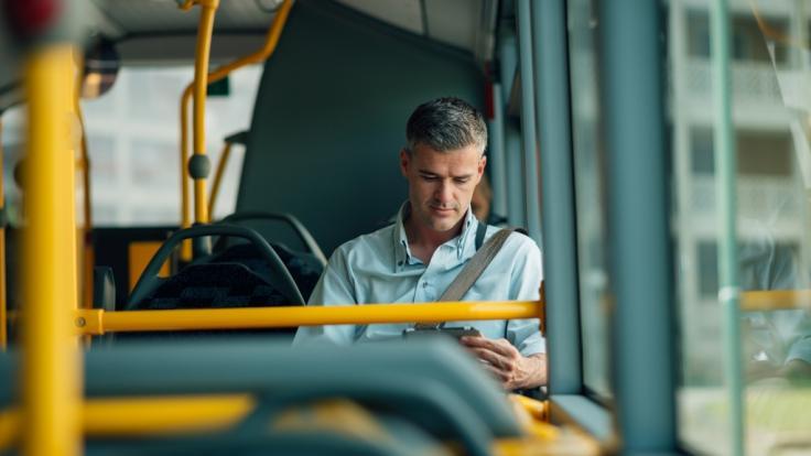 In einigen Städten können Sie kostenlos mit Bus und Bahn fahren. (Foto)