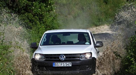 Die besten Bilder zu VW Amarok 2.0 BiTDI 4Motion: Rudelbildung (Foto)