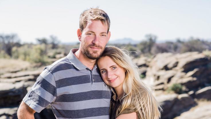 """Anna und Gerald Heiser lernten sich bei """"Bauer sucht Frau"""" kennen und lieben. Vor Kurzem sind sie Eltern eines Sohnes geworden. (Foto)"""