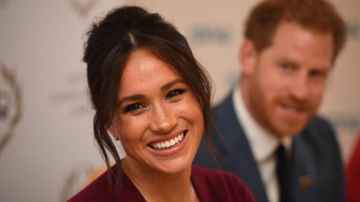 Erwarten Meghan Markle und Prinz Harry ihr zweites Kind? (Foto)