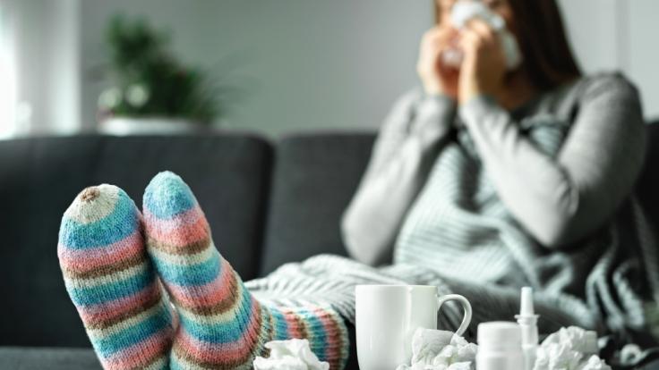 Die kommende Grippesaison könnte laut Experten verheerend sein. (Foto)