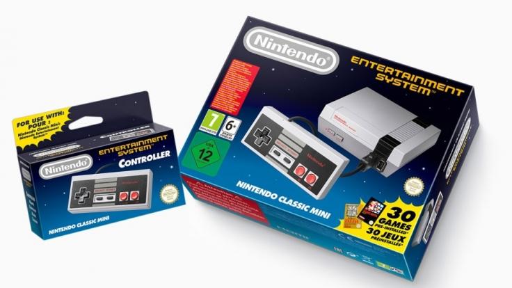 Die Neuauflage des NES kommt mit 30 vorinstallierten Spielen.