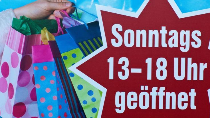Gibt es bald mehr verkaufsoffene Sonntage in Deutschland? Gewerkschaften und Handel liegen sich deshalb in den Haaren. (Foto)