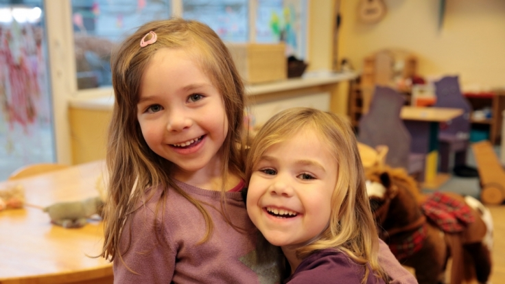 """Was machen Kinder zwischen vier und fünf Jahreneigentlich, wenn die Eltern mal nicht dabei sind? Dieser Frage geht Vox in """"Die wunderbare Welt der Kinder – Wir sind 4!"""" nach. (Foto)"""