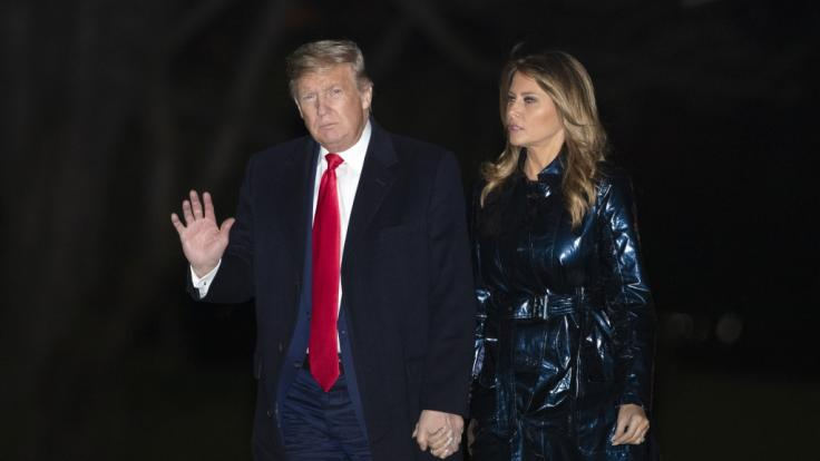 Stehen Donald und Melania Trump endgültig vor der Scheidung? (Foto)