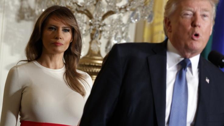 Hat Melania Trump eine Doppelgängerin. (Foto)