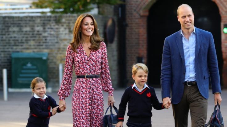 Werden Prinzessin Charlotte und Prinz George künftig nicht mehr gemeinsam zur Schule gehen? (Foto)
