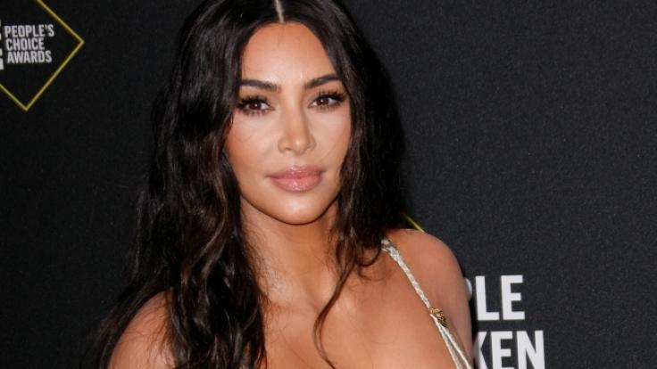 Kim Kardashian begeisterte dieses Jahr mit freizügigen Einblicken. (Foto)