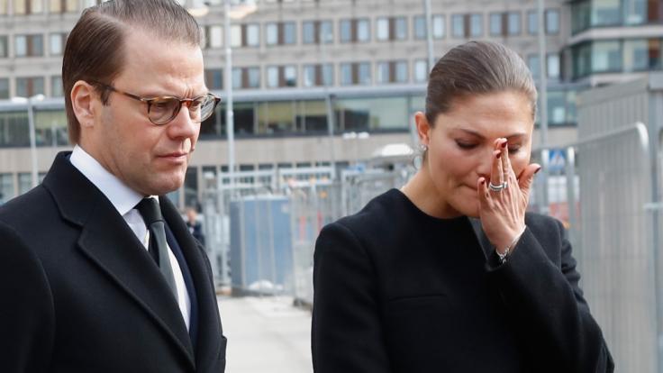 Kronprinzessin Victoria von Schweden und ihr Ehemann müssen traurige Zeiten durchmachen. (Foto)