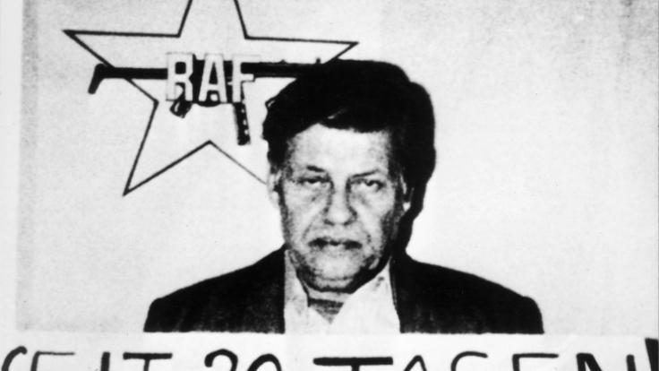 Hanns-Martin Schleyer wurde von der RAF entführt und ermordet.