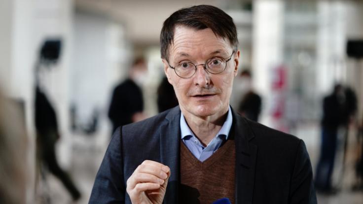 SPD-Gesundheitsexperte Karl Lauterbach fordert einen harten Lockdown, um die dritte Welle zu brechen.