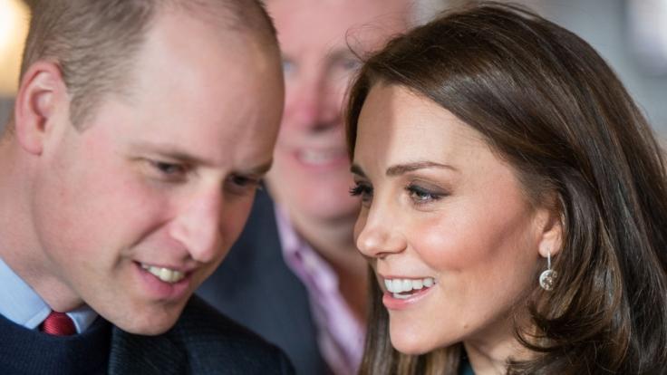 Prinz William und Kate Middleton erwarten im April ihr drittes Kind. (Foto)