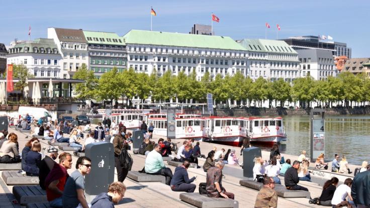 Deutschland stehen sommerliche Temperaturen ins Haus. (Foto)