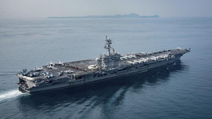 """Der US-Flugzeugträger """"USS Carl Vinson"""" auf dem Weg nach Norkorea. (Foto)"""