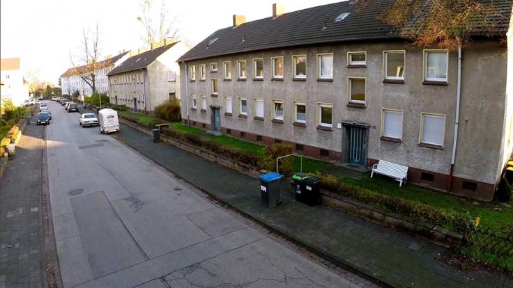 Die Eisenbahnsiedlung Duisburg blickt auf eine lange Geschichte zurück. (Foto)