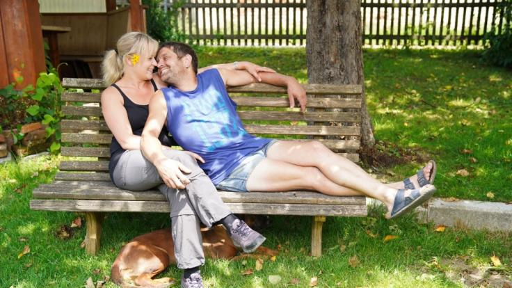 Bauer sucht Frau-Traumpaar Stephan und Steffi heiraten im August mit Familie und Freunden. (Foto)