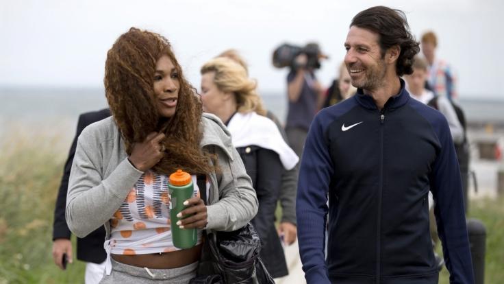 Tolles Paar: Serena Williams und Patrick Mouratoglou.