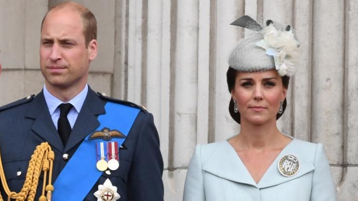 Prinz William und Kate Middleton sind nach dem Unfall zutiefst bestürzt. (Foto)