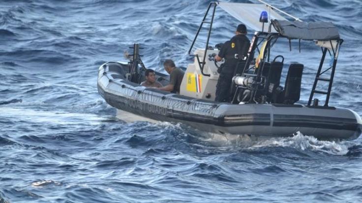 Für einen der Schiffbrüchigen kam jede Hilfe zu spät. (Foto)