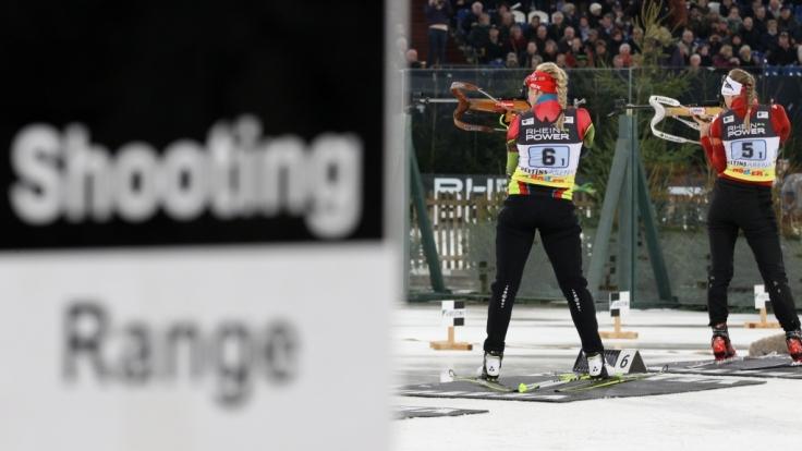 Mit ihrer Sportwaffe richtete sich Julia Pieper selbst.
