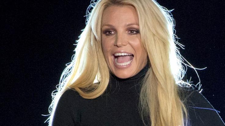 Britney Spears feiert ihre neu gewonnene Freiheit. (Foto)