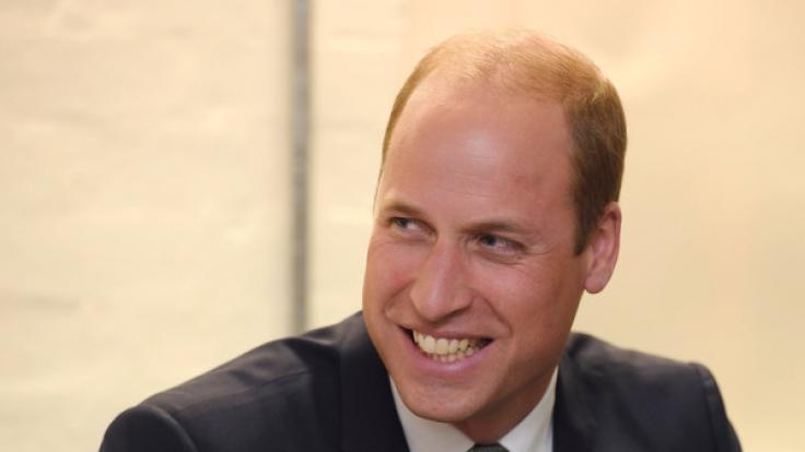 Prinz William plaudert in aller Öffentlichkeit mit Vorliebe über die geheimen Macken seiner Kinder Prinz George und Prinzessin Charlotte. (Foto)