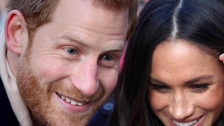 Prinz Harry und Meghan Markle sind glücklich - doch nicht alle gönnen ihnen dieses Glück. (Foto)