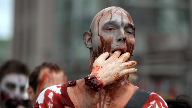 Zombie Run in Stockholm.