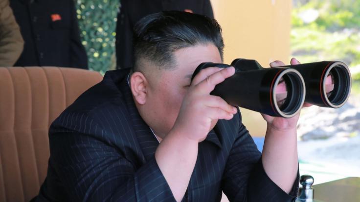 Kim Jong Un führt erneute Waffentests durch. (Foto)