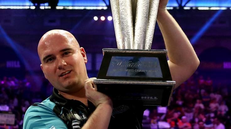 Dartsprofi Rob Cross konnte den Weltmeistertitel 2018 für sich verbuchen.