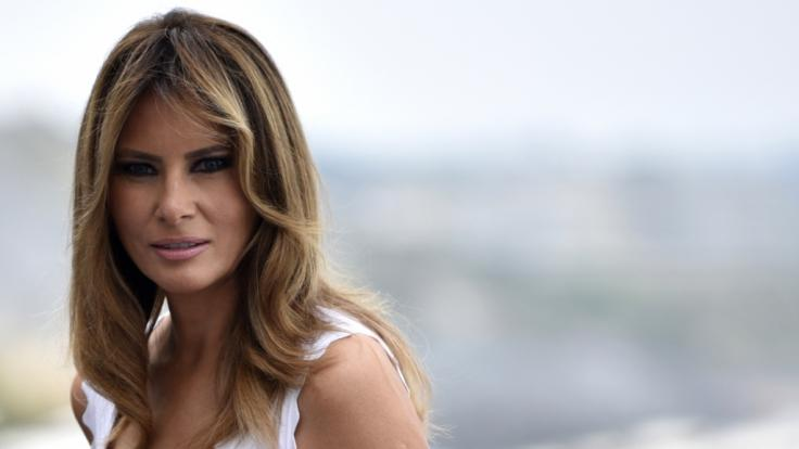 Melania Trump, First Lady der USA, gerät abermals in die Kritik. (Foto)