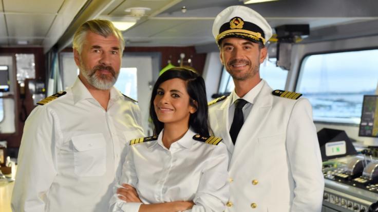 """""""Traumschiff""""-Kapitän Florian Silbereisen bekommt Konkurrenz auf dem Meer. (Foto)"""