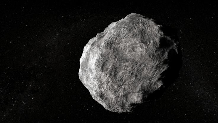 Immer wieder fliegen Asteroiden an der Erde vorbei.