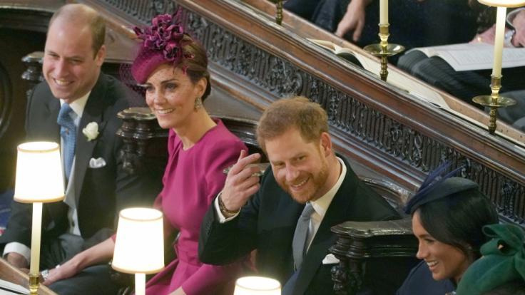 Prinz Harry soll Kate Middleton mit Worten zum Weinen gebracht haben. (Foto)